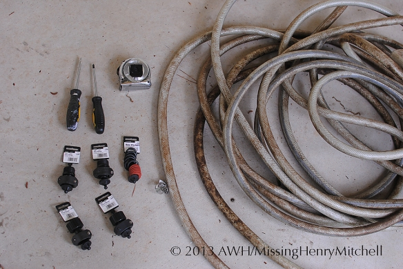 hose repair assemble materials